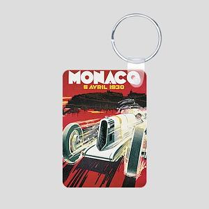 Monaco Grand Prix 1930 1 Aluminum Photo Keychain