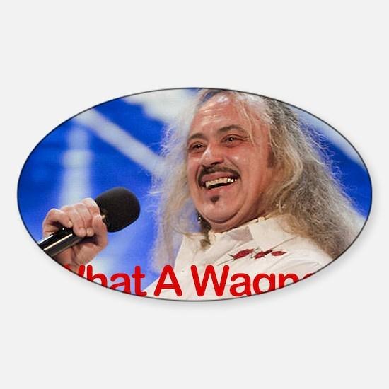 Wagner6-4 Sticker (Oval)