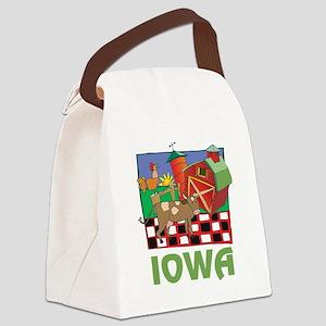 Iowa Farm Canvas Lunch Bag