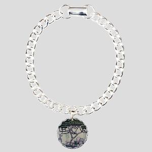 Shanghai Bonsai Charm Bracelet, One Charm