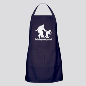 You are being squatched Apron (dark)