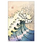 Large Wave Poster