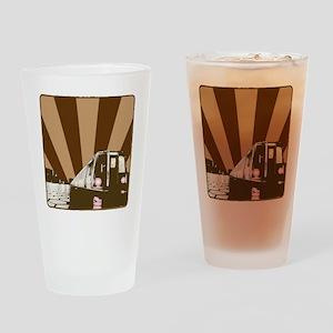 MetroCar_2 Drinking Glass