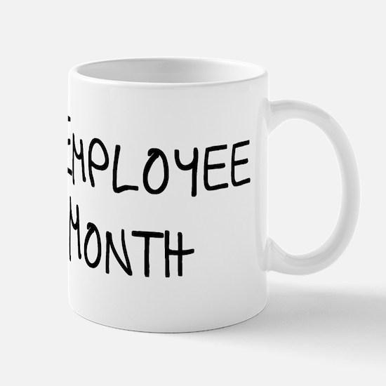 Psycho Employee Of The Month Mug