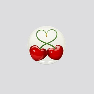 Cherry Love Mini Button