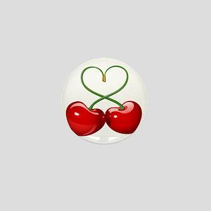 Cherry Love Mini Button