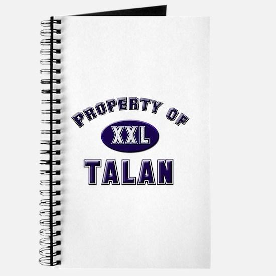 Property of talan Journal