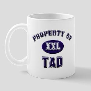 Property of tad Mug