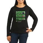 Special Kiwis Women's Long Sleeve Dark T-Shirt
