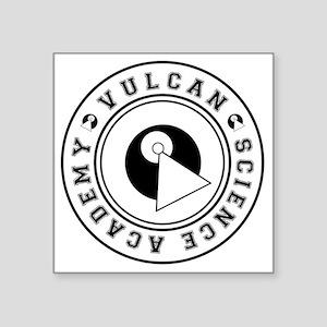 """vulcanscienceacademy01 Square Sticker 3"""" x 3"""""""