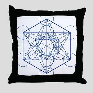 hb-metatron Throw Pillow