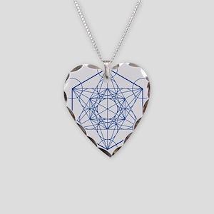 hb-metatron Necklace Heart Charm