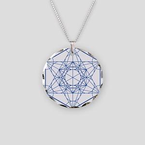 hb-metatron Necklace Circle Charm