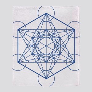 hb-metatron Throw Blanket