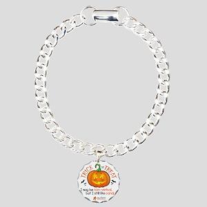 halloween1-non-verbal Charm Bracelet, One Charm