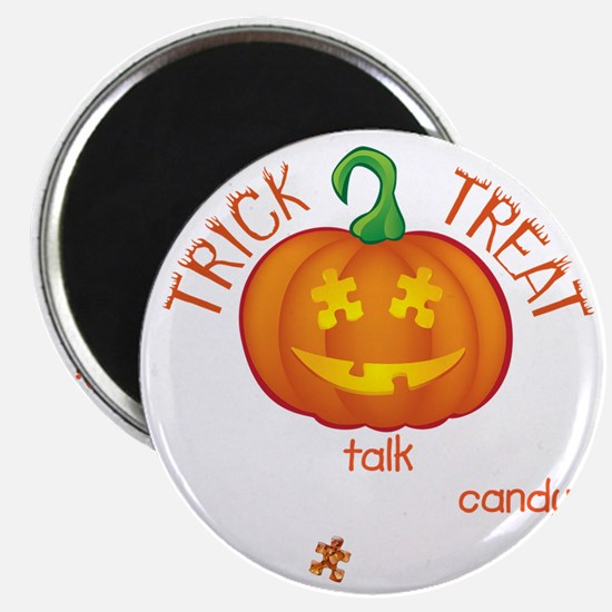 halloween1-talk-onblk Magnet
