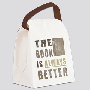 BooksBetter Canvas Lunch Bag