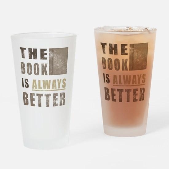 BooksBetter Drinking Glass