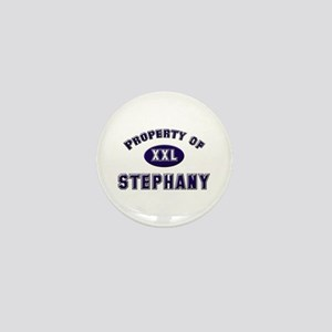 Property of stephany Mini Button