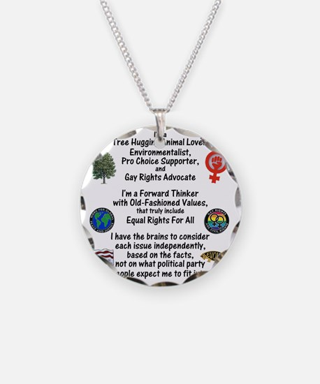 independent_thinker_2d_trans Necklace Circle Charm