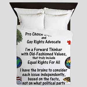 independent_thinker_2d_trans Queen Duvet