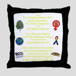 independent_thinker_2a_lttext_trans Throw Pillow
