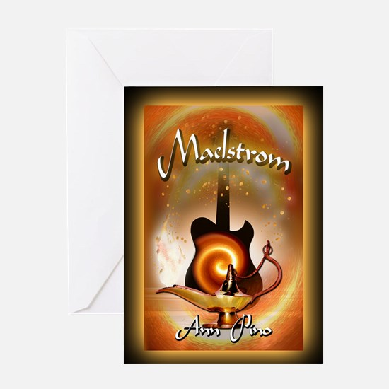 Maelstrom mouse pad Greeting Card
