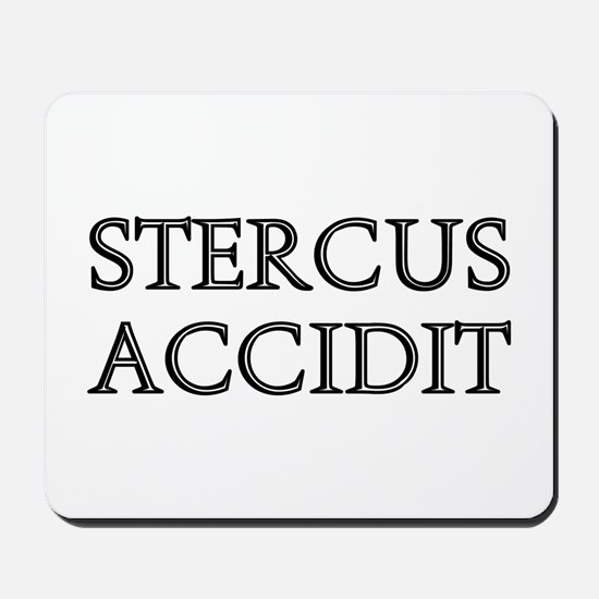 STERCUS ACCIDIT Mousepad