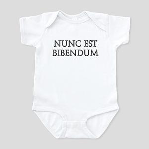 NUNC EST BIBENDUM Infant Bodysuit