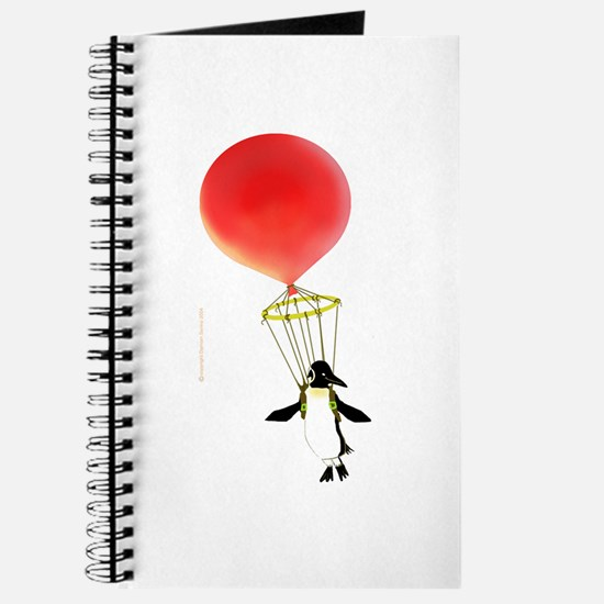 """""""I can fly!"""" Penguin -Journal"""