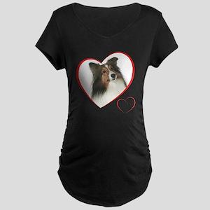 DuncanLovePlain Maternity Dark T-Shirt