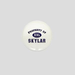 Property of skylar Mini Button