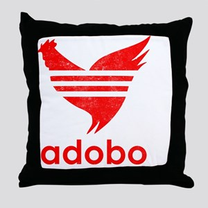 adob-red Throw Pillow