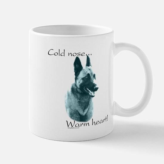 Malinois Warm Heart Mug