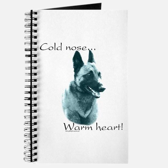 Malinois Warm Heart Journal
