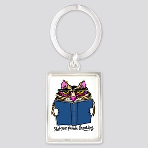 cat Portrait Keychain
