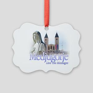 MedjugorjeTshirt4 Picture Ornament