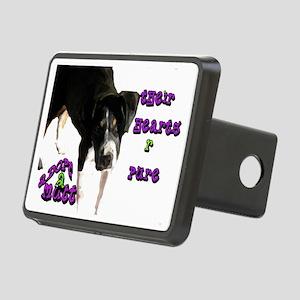 adopt a mutt2 Rectangular Hitch Cover