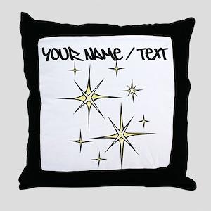 Twinkling Stars Throw Pillow