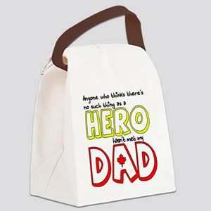 Anyone who thinks theres no such  Canvas Lunch Bag