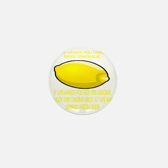 2-Lemons Mini Button