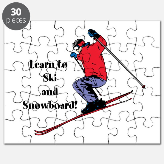 Learn to Ski and Snowboard Month Puzzle