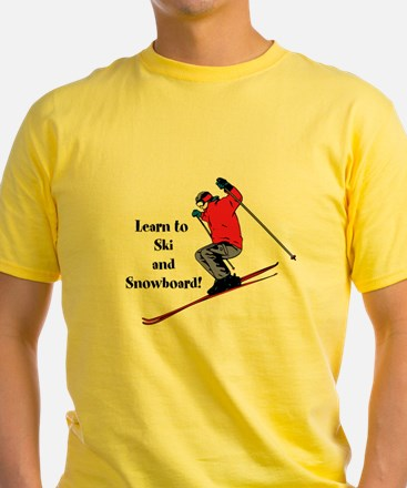 Learn to Ski and Snowboard Month T-Shirt