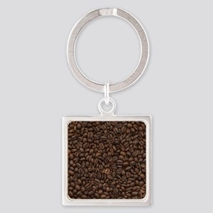coffee_beans Square Keychain