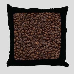 coffee_beans Throw Pillow