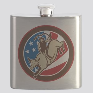 rodeo cowboy bull riding Flask