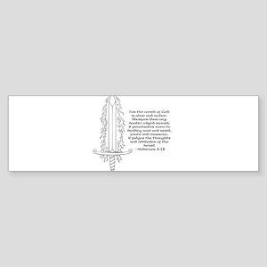 Hebrews 4:12 Bumper Sticker