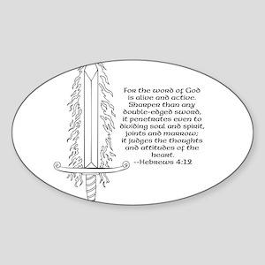 Hebrews 4:12 Sticker
