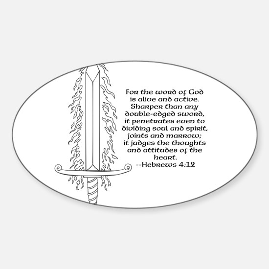Hebrews 4:12 Decal