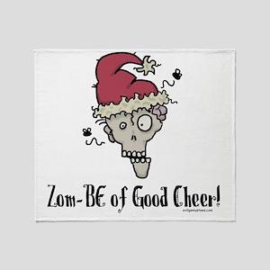 zombieofgoodcheer Throw Blanket